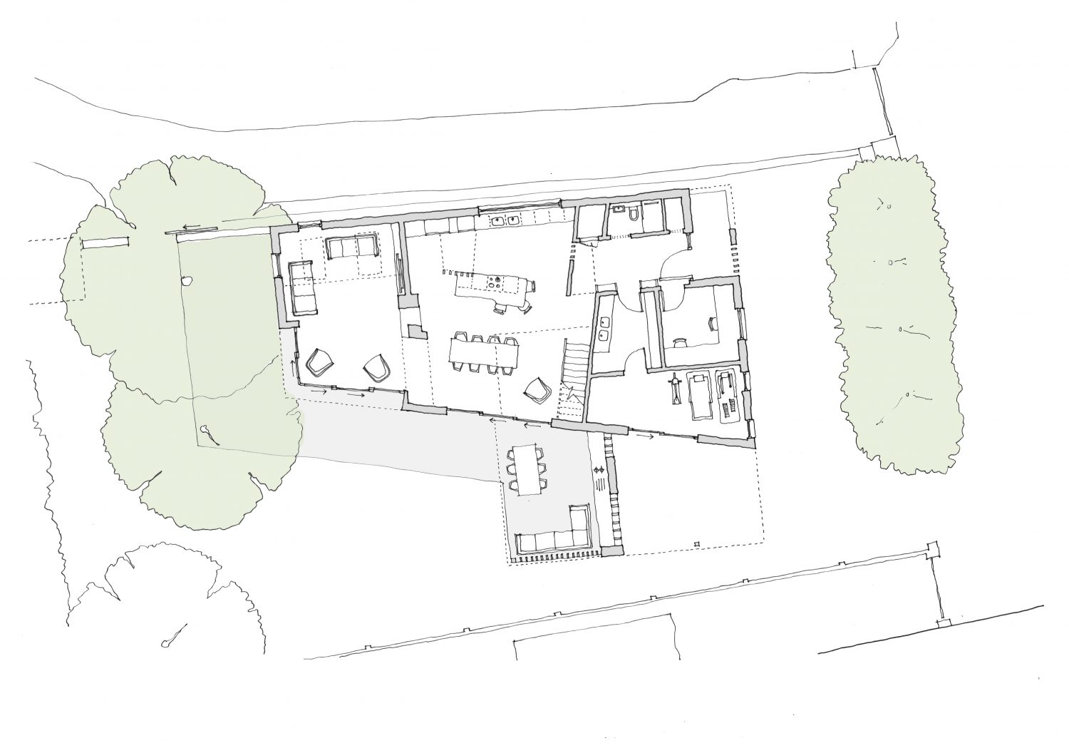 Floor Plan Devon Architects
