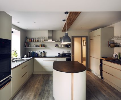 Handmade kitchen - Exeter City Architects