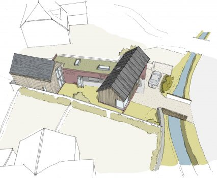Birds Eye - East Devon Architect