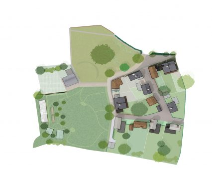 Lympstone Nursery - Architects' Site Plan