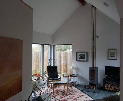 Living Room - East Devon Architect