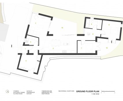 Ground Floor Plan - East Devon Architect