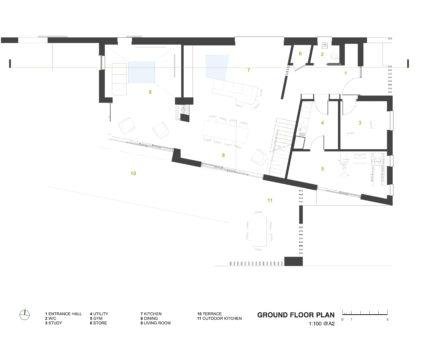 Ground Floor Plan Devon Architects