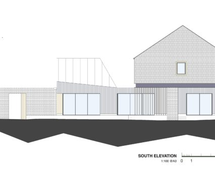 South Elevation Devon Architects