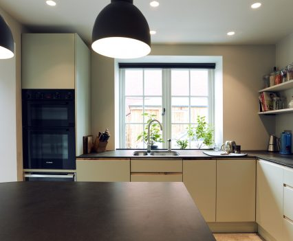 Kitchen window - Exeter City Architects