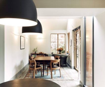 View to dining room - Exeter City Architects