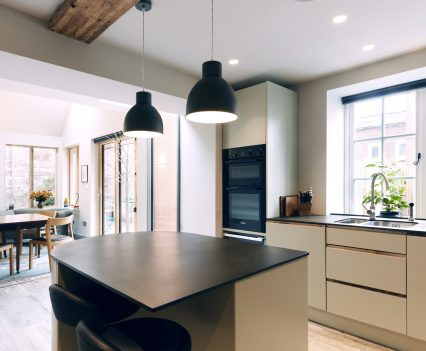 Kitchen and dining space - Exeter City Architects