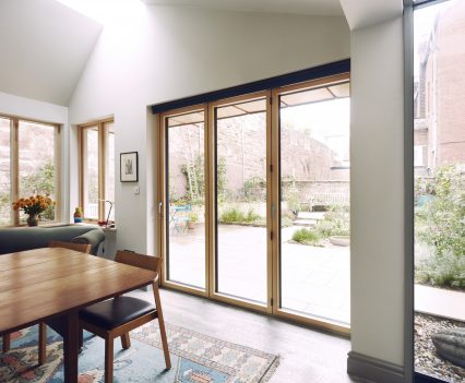 Looking to the garden - Exeter City Architects