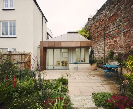 Front elevation - Exeter City Architects