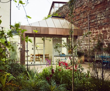 From the garden - Exeter City Architects