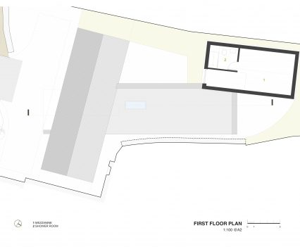 First Floor Plan - East Devon Architect