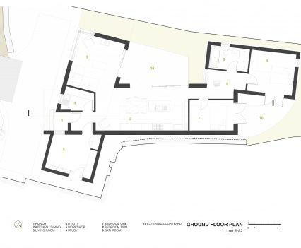 Ground Floor Plan - East Devon Architect