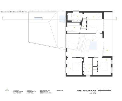 First Floor Plan Devon Architects