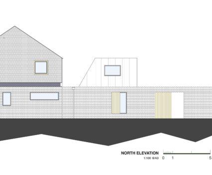 North Elevation Devon Architects